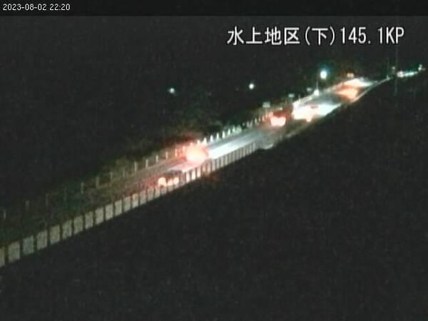ライブカメラ 関越道 水上IC~関越トンネル付近(145.1キロポスト)