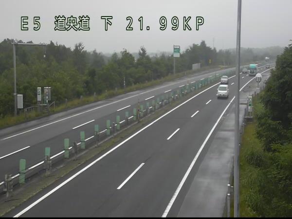 恵庭IC~北広島ICのライブカメラ画像