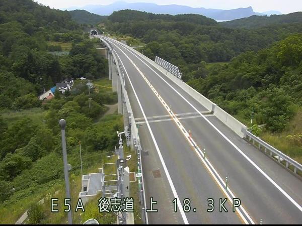 余市IC~小樽塩谷ICのライブカメラ画像